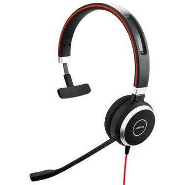 Jabra Evolve 40 MS Mono Headset PN 6393-823-109