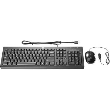 HP USB Essential Keyboard and Mouse PN H6L29AA