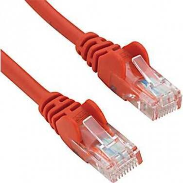 25CM Cat6 RED Network Cable