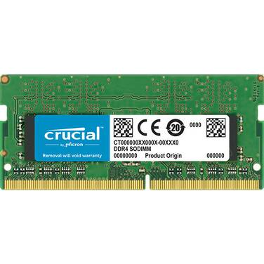 8GB SODIMM DDR4 Crucial 2400MHz RAM for Notebooks PN CT8G4SFS824A