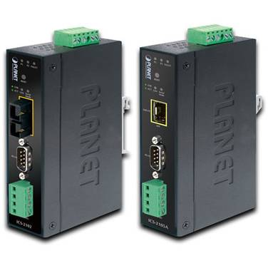Planet RS232/RS-422/RS485 to 100Base-FX Fiber Optic (SFP) Converter