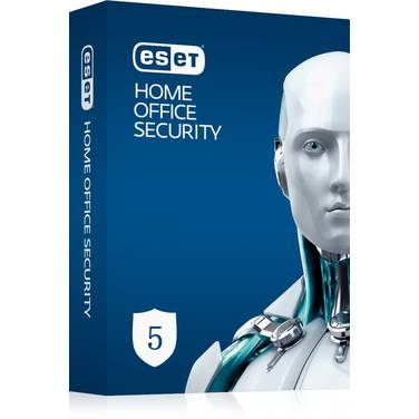 5 Pack ESET Home Office Security Virtual License - 5 Endpoints, 5 Android Devices, 1 File Server DOWNLOAD KEY