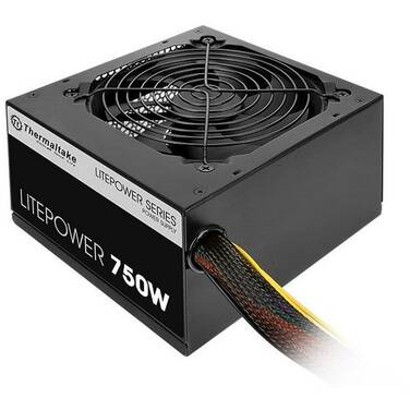 750 Watt Thermaltake Litepower GEN 2 Power Supply PN PS-LTP-0750NPCNAU-2