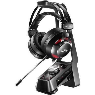 ADATA EMIX H30 3.5mm Gaming Headset and Solox F30 Amplifier