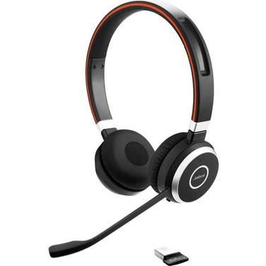 Jabra Evolve 65 MS Stereo Wireless Bluetooth Headset PN 6599-823-309