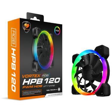 120mm Cougar Vortex RGB HDB Case Fan PN CF-V12HB-RGB