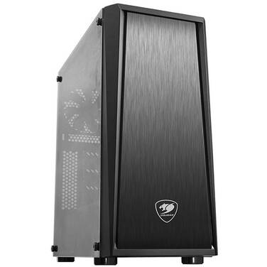 Cougar ATX MX340 Tempered Glass Case Black (No PSU)