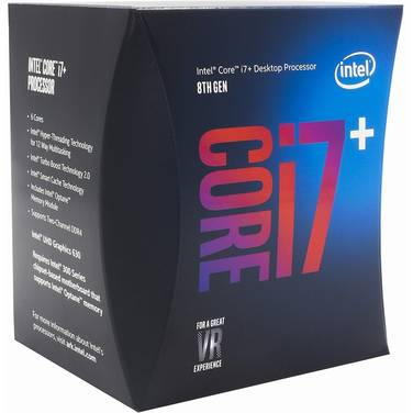 Intel S1151 Core i7 8700 3.2GHz 6 Core CPU + 16GB Optane PN BO80684I78700