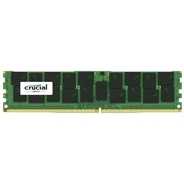 16GB DDR4 (1x16G) Crucial ECC Unbuffered 2666Mhz Server Memory PN CT16G4WFD8266