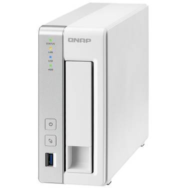 1 Bay QNAP TS-131P Gigabit NAS Unit