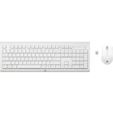 HP C2710 USB Wireless Keyboard and Mouse White PN M7P30AA