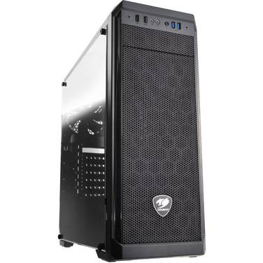Cougar ATX MX330-STE500 Window Case Black with 500 Watt PSU