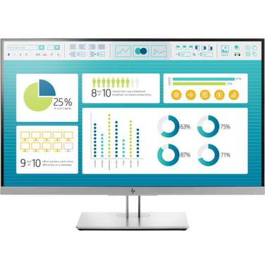 27 HP E273 FHD IPS Monitor with Height Adjust PN 1FH50AA