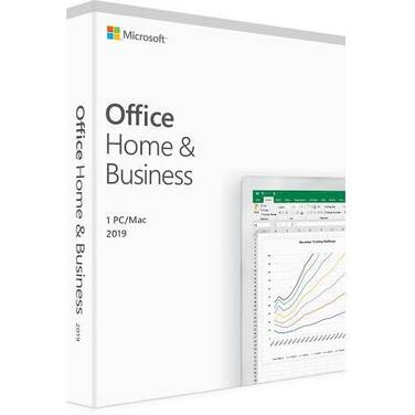 Microsoft Office 2019 Home and Business License PN T5D-03301