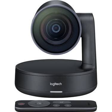 Logitech Rally Ultra HD PTZ Camera for Meeting Rooms PN 960-001226