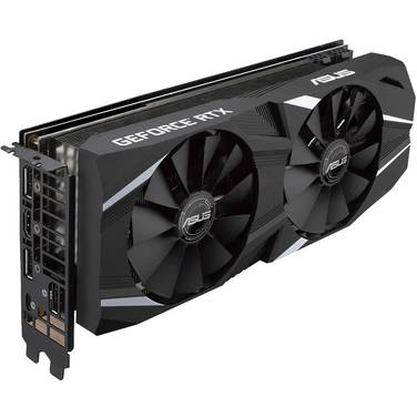 ASUS RTX2070 8GB Dual PCIe Video Card PN DUAL-RTX2070-A8G