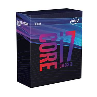 Intel S1151 Core i7 9700K 3.6GHz 8 Core CPU (No Cooler) PN BX80684I79700K