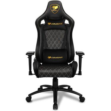 Cougar Armor S Royal PVC Leather Gaming Chair Black