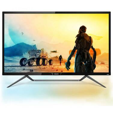 43 Philips 436M6VBPAB 4K HDR Monitor with Speakers