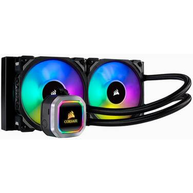Corsair Hydro Series H100i RGB Platinum Liquid CPU Cooler PN CW-9060039-WW