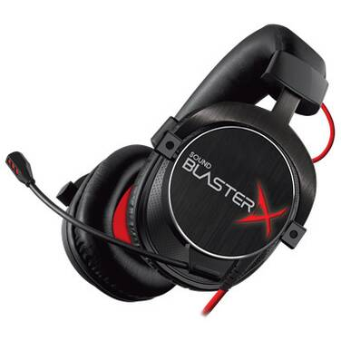 Creative Sound BlasterX H5 Tournament Edition 3.5mm Gaming Headset PN 70GH031000003