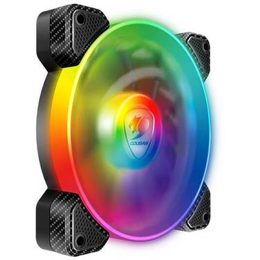 120mm Cougar Vortex RGB SPB Case Fan PN CF-V12SPB-RGB