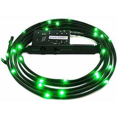 2 Meter NZXT Sleeved Green LED Kit PN CB-LED20-GR