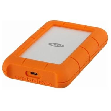2TB LaCie 2.5 Rugged USB C External Portable HDD PN STFR2000800