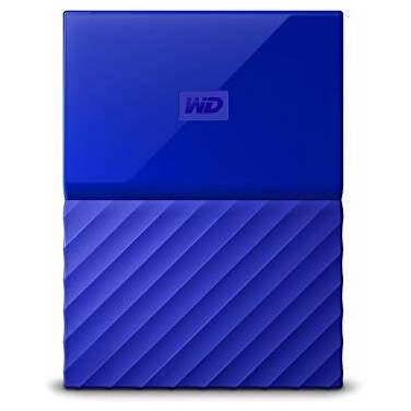 1TB WD 2.5 USB 3.0 My Passport Portable HDD BLUE PN WDBYNN0010BBL-WESN