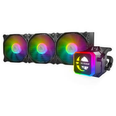Cougar Helor 360 RGB Liquid CPU Cooler PN RL-HLR360-V1
