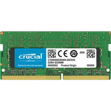 8GB SODIMM DDR4 2666MHz Crucial RAM for Notebooks PN CT8G4SFS8266