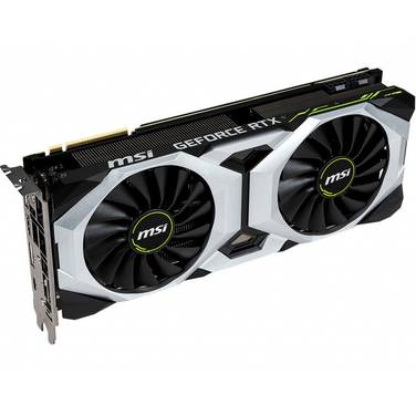 MSI RTX2080Ti 11GB Ventus OC PCIe Video Card PN RTX2080TI-VENTUS-11G-OC
