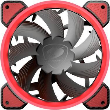 120mm Cougar CF-V12FR Red LED Case Fan