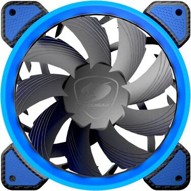 120mm Cougar CF-V12FB Blue LED Case Fan
