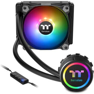 Thermaltake Water 3.0 120 ARGB Sync Liquid CPU Cooler PN CL-W232-PL12SW-A