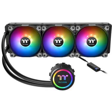 Thermaltake Water 3.0 360 ARGB Sync Liquid CPU Cooler PN CL-W234-PL12SW-A