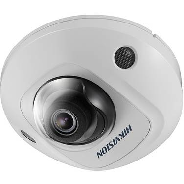 Hikvision DS-2CD2555FWD-IS 6MP IR Outdoor Mini Dome Camera With Mic & 2.8mm Lens