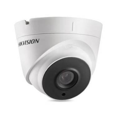 Hikvision DS-2CE56H5T-IT3E 5MP HD-TVI Turret Camera With Power Over Coax and 2.8mm Lens