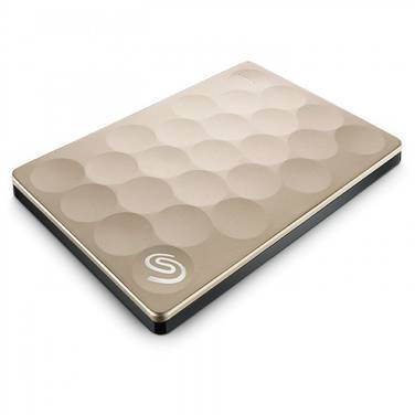 2TB Seagate 2.5 GOLD USB 3.0 Backup Plus Ultra Slim Portable HDD PN STEH2000301