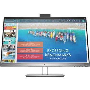 23.8 HP E243D FHD IPS Docking Monitor with Height Adjust and WebCam PN 1TJ76AA