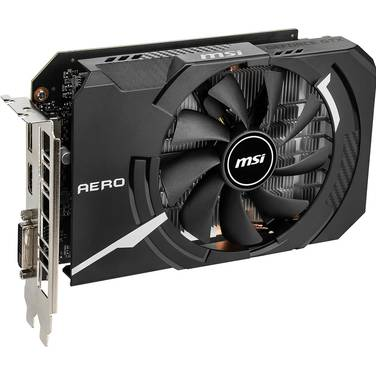 MSI GTX1660 6GB AERO ITX OC PCIe Video Card
