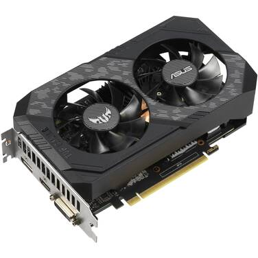ASUS GTX1660 6GB TUF OC Gaming PCIe Video Card PN TUF-GTX1660-O6G-GAMING