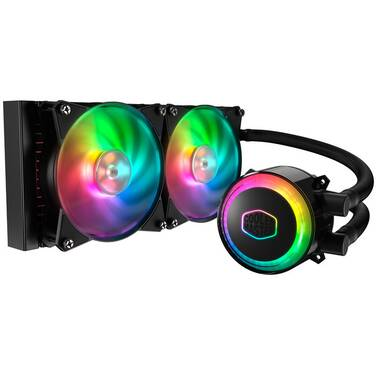 Coolermaster MasterLiquid ML240R ARGB Liquid CPU Cooler PN MLX-D24M-A20PC-R1