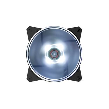 120mm Cooler Master MasterFan Lite MF120L White LED PN R4-C1DS-12FW-R1