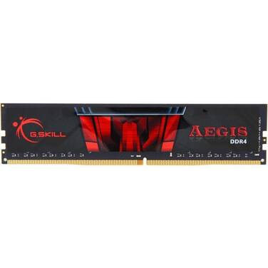 8GB DDR4 (1x8GB) G.Skill Aegis 2666Mhz RAM PN F4-2666C19S-8GIS