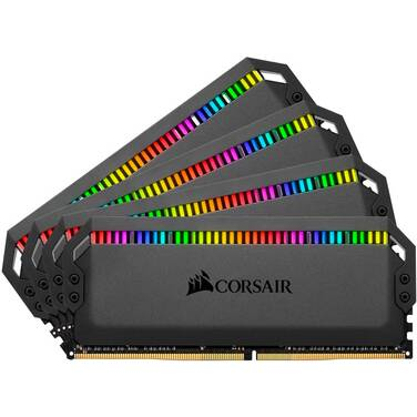 32GB DDR4 Corsair CMT32GX4M4C3200C16 (4x8GB) 3200MHz DOMINATOR PLATINUM RGB Ram Kit