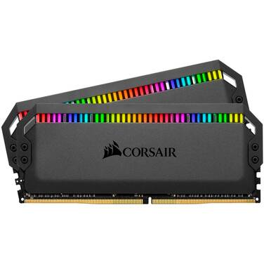 32GB DDR4 Corsair CMT32GX4M2C3000C15 (2x16GB) 3000MHz DOMINATOR PLATINUM RGB Ram Kit