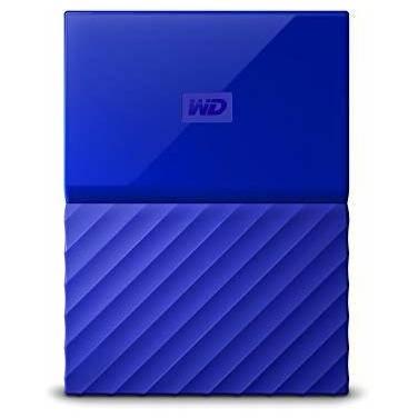 3TB WD 2.5 USB 3.0 My Passport Portable HDD BLUE PN WDBYFT0030BBL-WESN