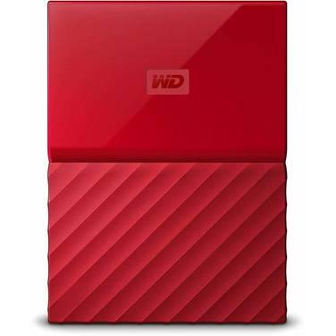 3TB WD 2.5 USB 3.0 My Passport Portable HDD RED PN WDBYFT0030BRD-WESN