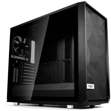Fractal Design ATX Meshify S2 Black TG Dark Tint Case (No PSU) PN FD-CA-MESH-S2-BKO-TGD